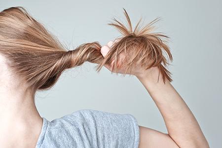 Acabe com a queda de cabelo!