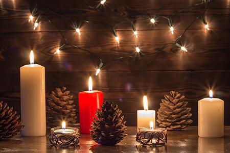 A magia das velas perfumadas!