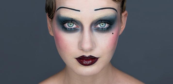 maquilhagem dia das bruxas