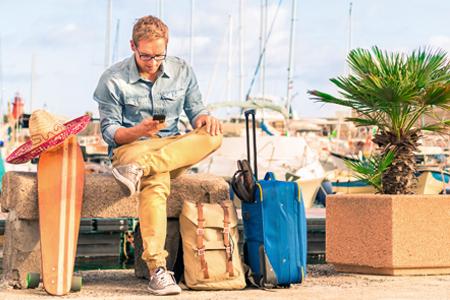 Homens, como preparar a sua mala para férias?