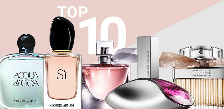 top 10 de perfumes