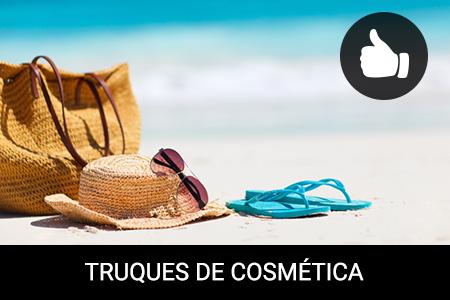 4 produtos de beleza indispensáveis na sua mala de praia!