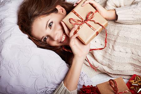 Sugestões de presentes de Natal para mulheres