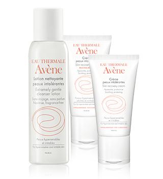 Avène produtos para pele intolerante