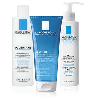 La Roche Posay Remoçao de maquilhagem e limpeza da pele