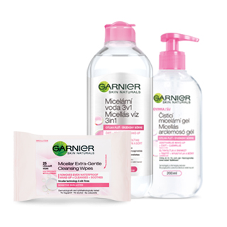Garnier Remoção de maquilhagem e limpeza da pele