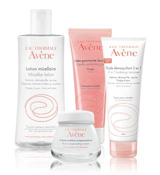 Avène Cuidados básicos para a pele sensível