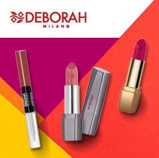 Batons e gloss Deborah Milano